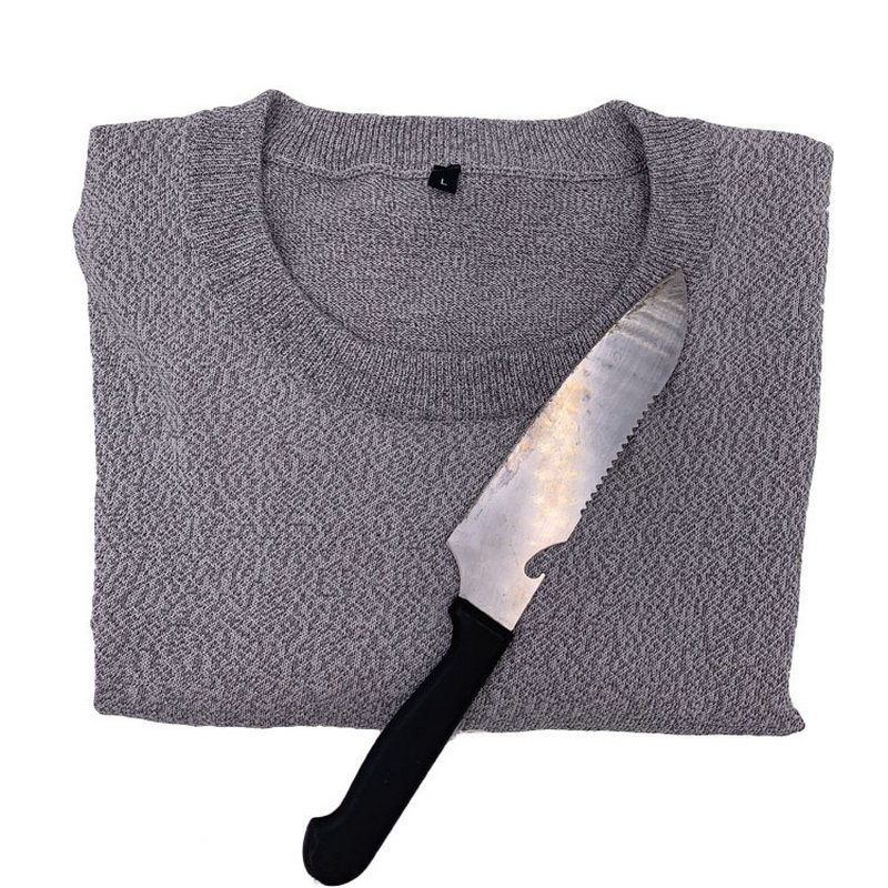 5-level Anti-cut Knit Low-neck Cut-proof Clothing Variety Of Styles Anti-cutting And Anti-cutting Field Protective Clothing