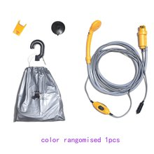 Car-Washer Electric-Pump Camping 12V Cleaning-Tool Travel Outdoor Portable