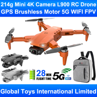 LYZRC L900 Pro Motor sin escobillas GPS 5G WIFI FPV 4K cámara profesional UAV Drone RC Drone aviones Quadcopter 20min de vuelo del 4DRC F9