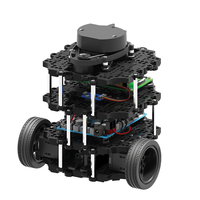 Intelligent Programmable ROS Robot Automatic Navigation SLAM Car Turtlebot3 Burger Pi3 Kit /Bulk Parts High Tech Toys
