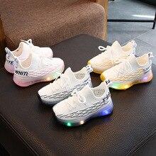 2020 Autumn Children Shoes Boys Girls Sport Shoes Breathable