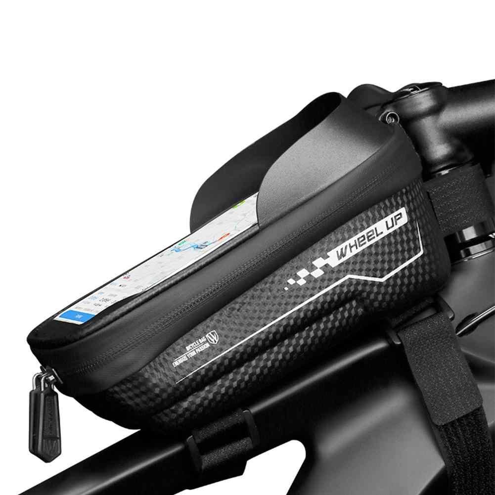 sombrilla para Bicicleta Bolsa de Almacenamiento de Gran Capacidad con Pantalla t/áctil de TPU Bolsa para tel/éfono para Bicicleta DesignSter Bolsa Impermeable para Cuadro de Bicicleta