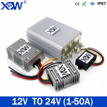 Power Supply Converter 12V TO 24V 1A 3A 5A 10A 12A 15A 20A Step Up Boost DC DC Voltage Regulator For Car For LED Free shipping 12v to 24v 20a 25a 30a step up dc dc converter 30 amp 720 watt 12vdc to 24vdc 30amp voltage regulator power boost module ce rohs