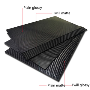 Image 3 - 400x500mm Factory direct sale Full 3K Carbon fiber Plate sheet Board panel 40x50cm thickness 1 1.5 2 2.5 3 3.5 4 mm