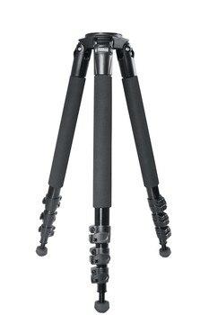 miliboo MTT702A (Without head) SLR Camera Bracket  Aluminium Tripod for Professional Camcorder/Video Camera/DSLR Stand