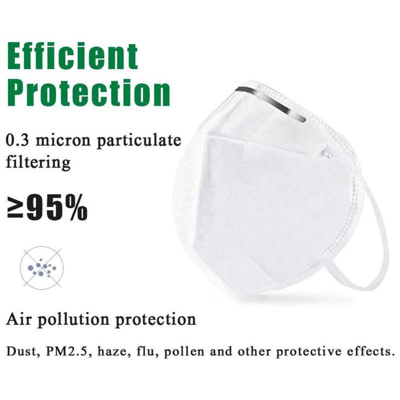 5Pcs Mask Anti Flu Anti Infection Masks Particulate Respirator PM2.5 Protective Safety Anti COVID-19 Flu Virus