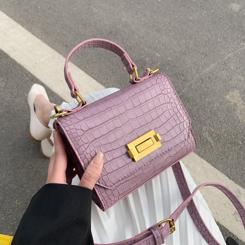 Stone Pattern Pu Leather Crossbody Bags For Women 2020 Lady Mini Totes Female Travel Shoulder Handbags Luxury Cross Body Bag