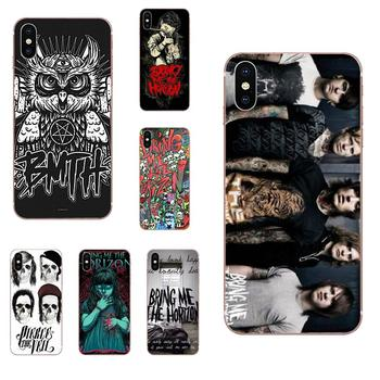 For Huawei Honor 4C 5A 5C 5X 6 6A 6X 7 7A 7C 7X 8 8C 8S 9 10 10i 20 20i Lite Pro Clear Soft Shell Metalcore Band Bmth Logo image