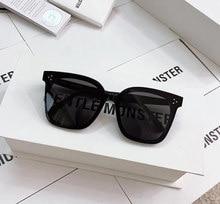 2020 feminino masculino óculos de sol de grandes dimensões coréia suave seus óculos de sol estrela óculos de sol moda senhora vintage pacote de luxo