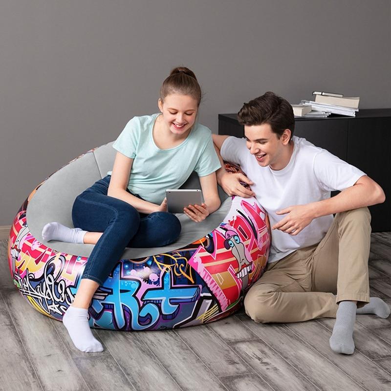 round graffiti sofa (4)
