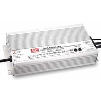 MeanWell IP67 300W 320W 480W 600W LED Transformer AC90V 305V to DC 12V 24V CE UL SAA TUV Driver Adapter