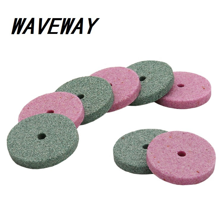 50 Pcs Dremel Accessories 20mm Mini Drill Grinding Wheel/Buffing Wheel Polishing Pad Abrasive Disc For Bench Grinder Rotary Tool