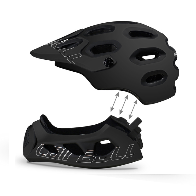 Cairbull adulto rosto cheio capacete da bicicleta mtb mountain road bicicleta cheio coberto capacete da motocicleta dh downhill ciclismo capacete trilha 4