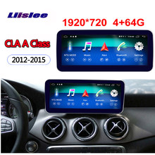 "4+64G 10.25"" Android display for Mercede Benz CLA GLA A Class W176 2012~2015 GPS navigation radio stereo dash multimedia player(China)"