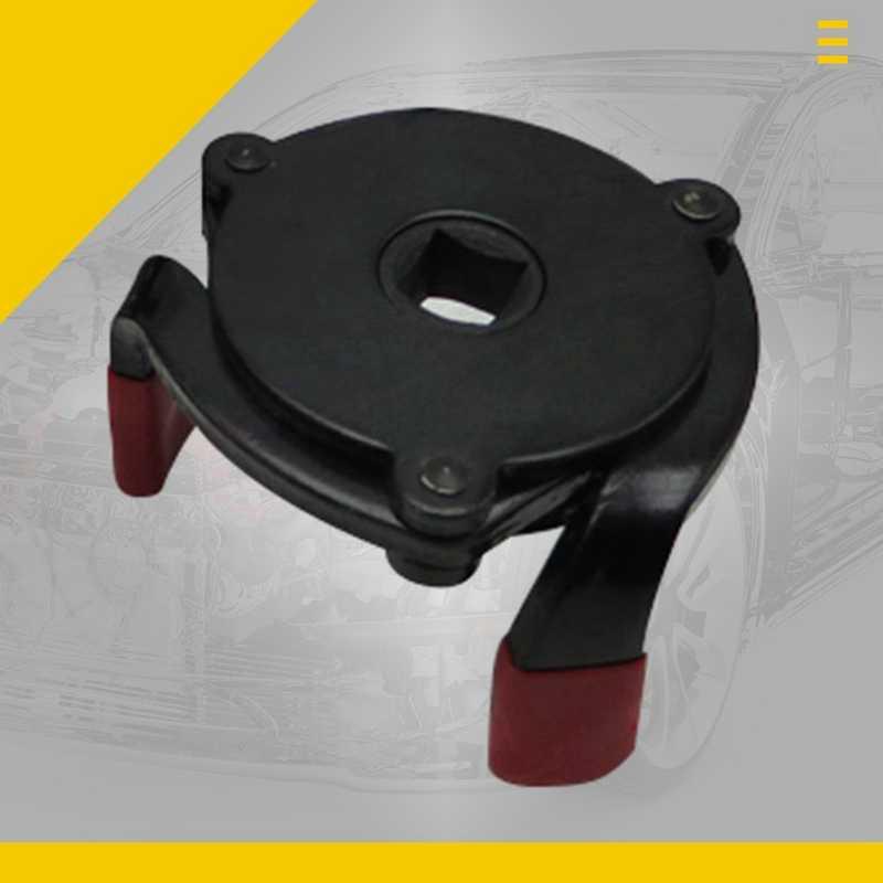 Llave de filtro de tres manecillas, llave de cambio de rejilla de aceite, llave de filtro de aceite, herramienta de llave de filtro de aceite con herramienta de removedor de 3 manecillas