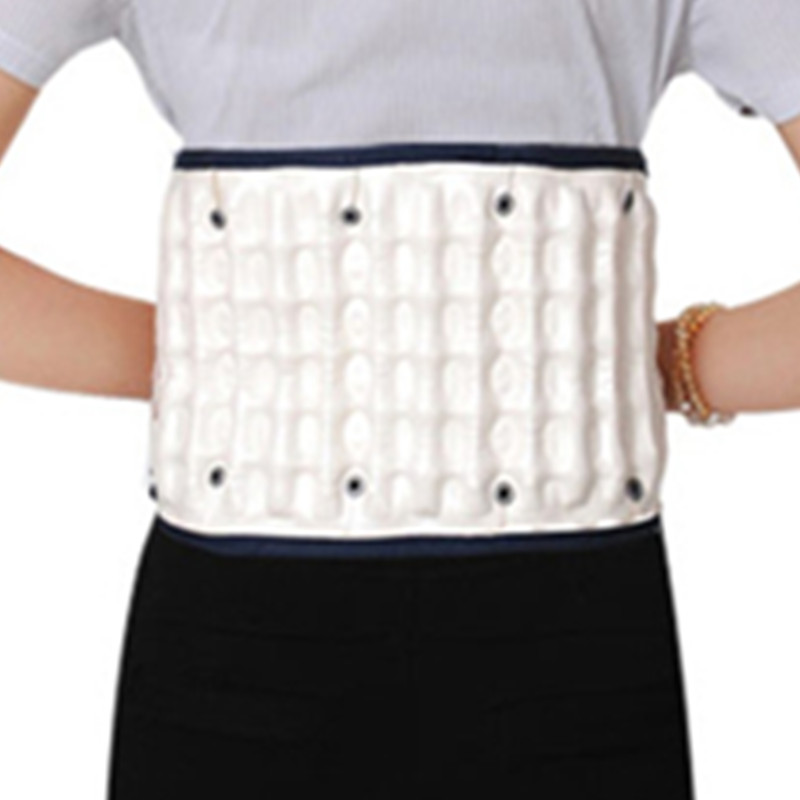 Купить с кэшбэком BYEPAIN Air Traction Waist Back Posture Corrector Pain Relief Back Belt Bandage Health Care Back Lumbar Support Brace Massager