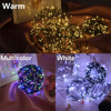 500 1000 LED Remote Control Fairy String Lights Christmas Garland LED Waterproof Outdoor Street Garden Wedding Party Decoration promo