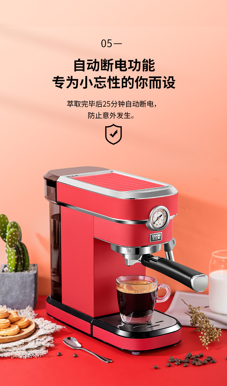 H243e9567c9e54cfd9f6e5b86e132be4el - 2020 Neue 15Bar Espresso Machine Stainless Steel Body Memory Function Home Use Fully Automatic Milk Frother Kitchen Appliances