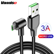 Quick charging 3A Micro usb cable for Samsung S6 S7 xiaomi oneplus Android phone microusb for Huawei LG HTC Nokia Charging Cord mini micro usb electric fan cell phone cooling for android phone for samsung for htc for lg