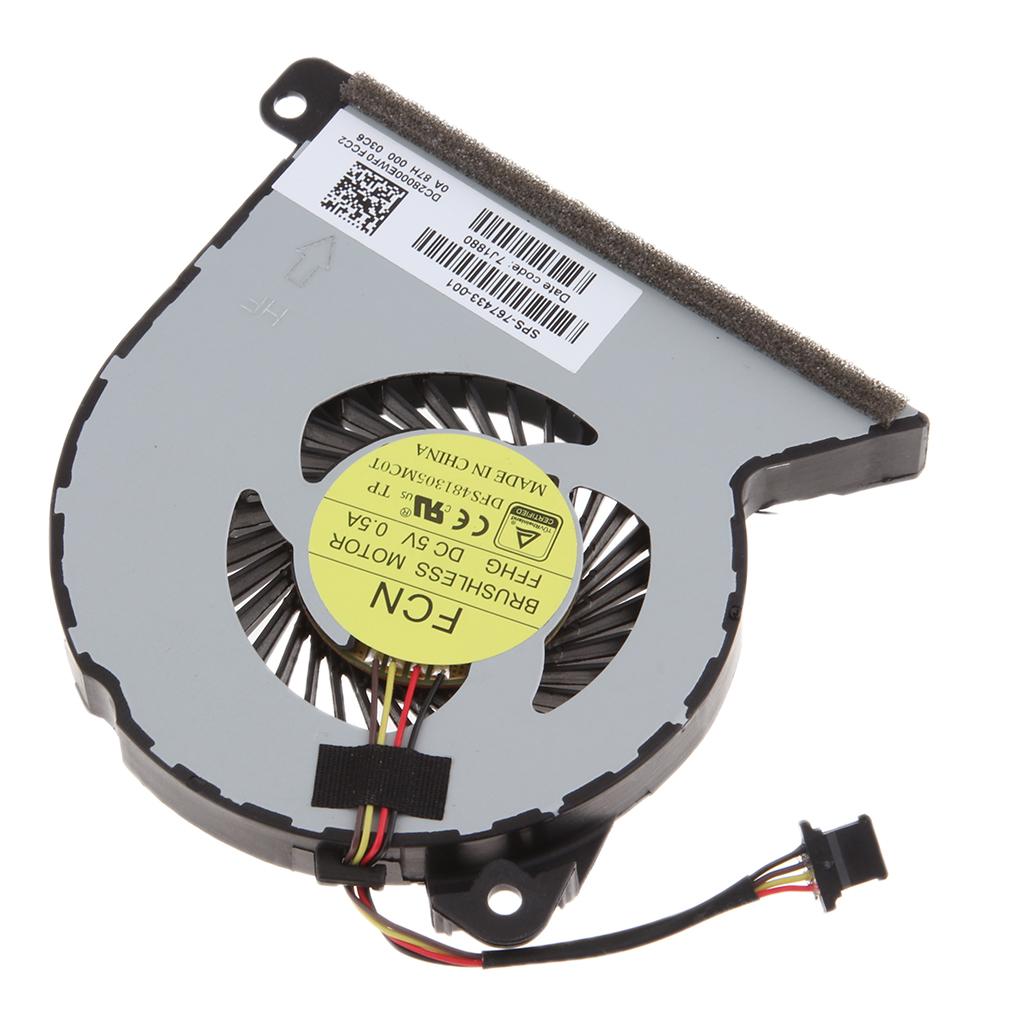 Laptop CPU Cooling Fan For ProBook 450 455 440 445 470 G2 & 450 G1