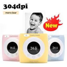 Mobile-Machine Photo-Thermal-Printer-Label Paperang P2s Pocket Mini Portable 58mm Bluetooth