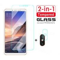 Gehärtetem Glas Für Xiaomi Mi Max Mix 2 2S 3 A3 A2 Lite A1 Schutz Glas Für Mi Poco x3 M2 F2 Pro X2 C3 M3 F3 Objektiv Glas Film