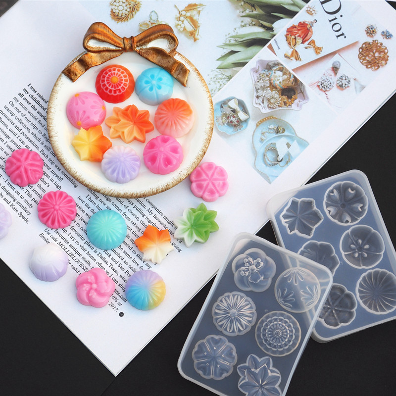 DIY Jewelry Tool UV Resin Jewery Accessories Fruit Shaped Silicone Jewelry Tools