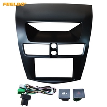 FEELDO Auto 2DIN Umrüstung Radio Audio Fascia Rahmen Lünette Für Mazda BT-50 Dash Panel Mount Installation Kit # HQ5311