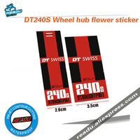 DT240S road bike bubs stickers  MTB Wheels Hubs Stickers Unreflective Glossy Decoration Front And Rear Hubs Stickers