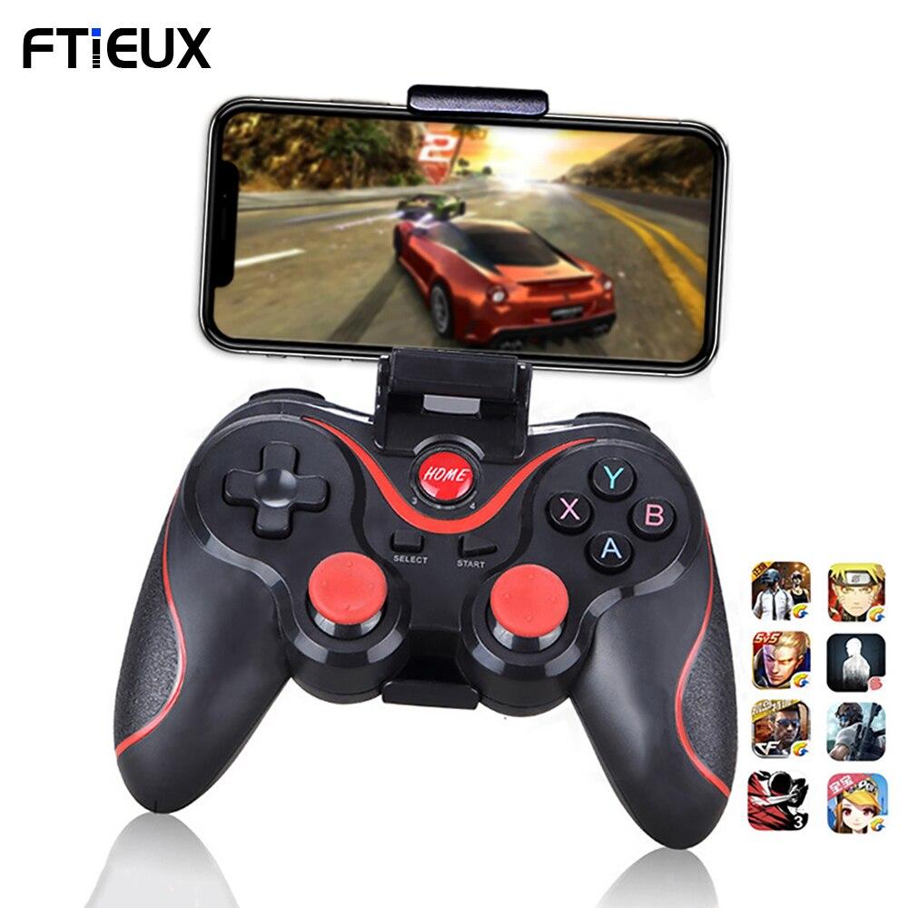 T3 X3 Беспроводной Bluetooth геймпад для IOS Android мобильный телефон Беспроводной джойстик игровой контроллер ручка для планшета ТВ коробка держате...