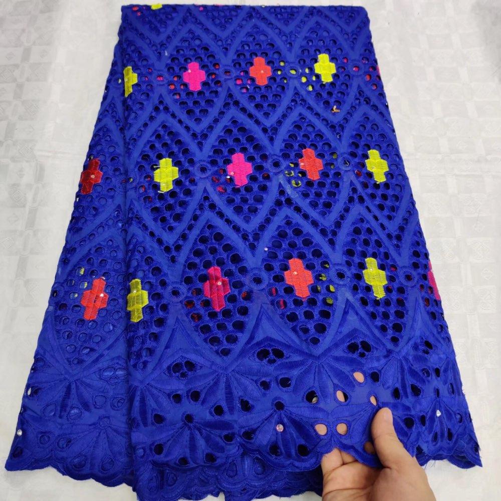스위스에서 새로운 패션 스위스 레이스 패브릭 2019 스위스 voile 레이스 저렴 한 고품질 아프리카 드라이 코 튼 voile 레이스 패브릭 13fs-에서레이스부터 홈 & 가든 의  그룹 1