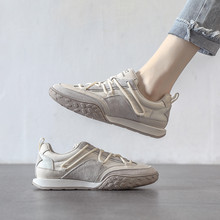 Women Sneakers 2021 Spring Female Genuine Leather Casual Shoes Trainers Outdoor Walking Shoes Women Lace Up Comfort Sneakers