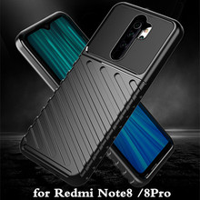 for Redmi Note 8 Case Note 8Pro Cover TPU for Xiaomi Mi Note8 Back Coque Note8pro Shockproof MOFi Anti Knock Full Edge Xiomi