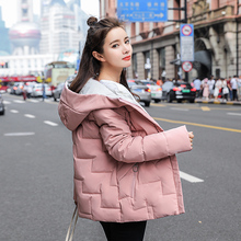 Korean Women Winter Jacket Women Coat Hooded Thick Warm Parkas Outerwear Pink Jacket Plus Size XXL Female Coat Puffer Jacket стоимость