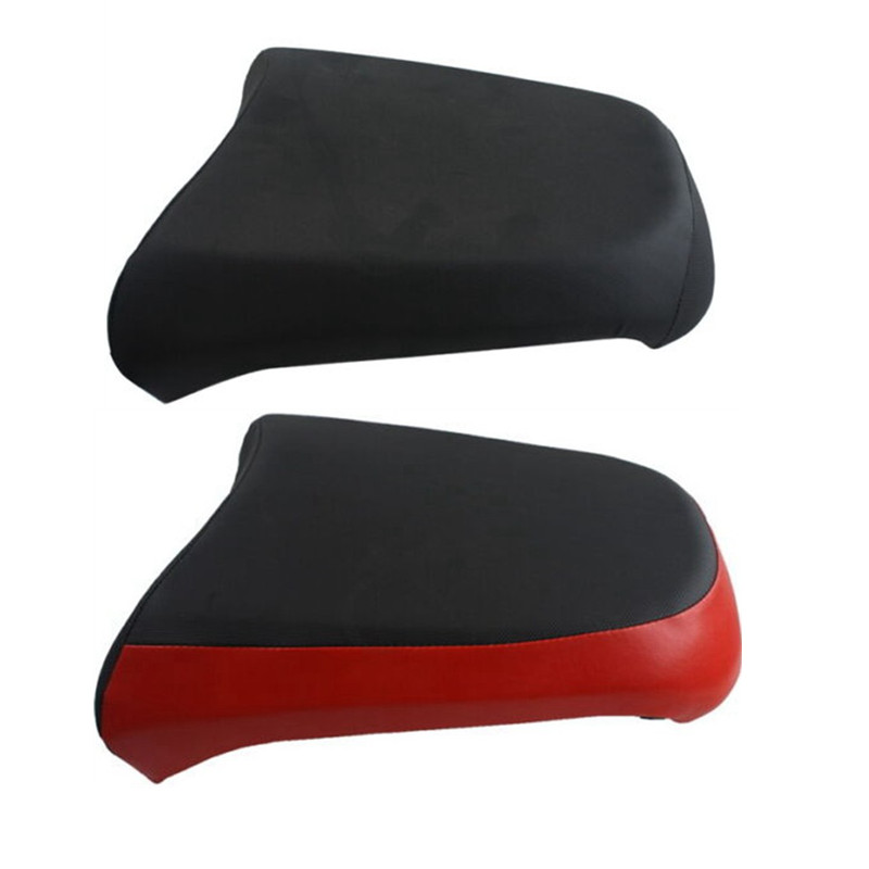 Motorcycle Black Red Rear Passenger Seat Pillion For BMW R1200GS ADV 2005-2012 2006 2007 2008 2009 2010 2011