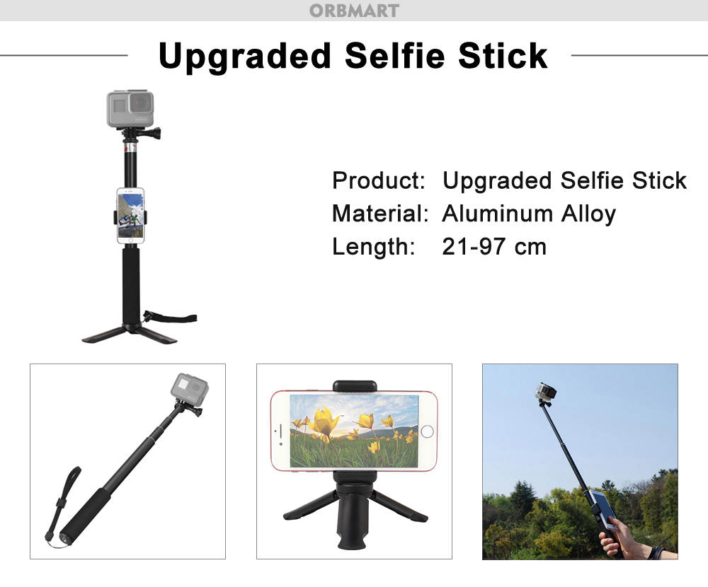 upgraded selfie stick-B