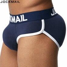 JOCKMAIL Brand Enhancing Mens Underwear Briefs Sexy Bulge Gay Penis pad Front +
