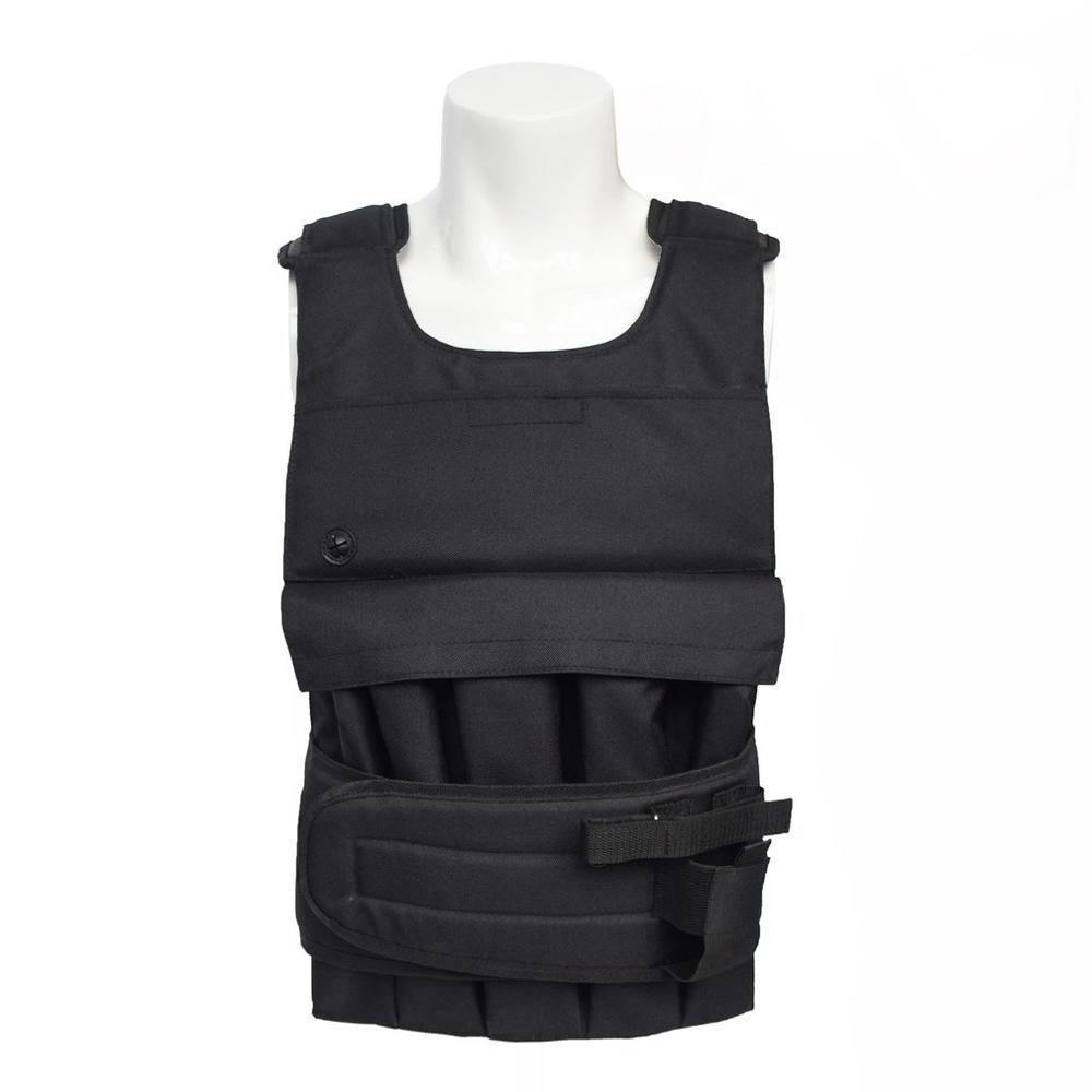 Weighted Vest For Boxing Training Workout Fitness Equipment Adjustable Waistcoat Jacket Sand Clothing