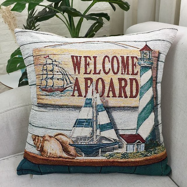 Beach House cushion Cover 4