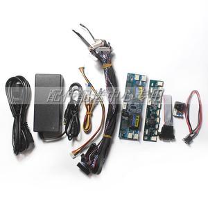 Image 3 - T 60S 6. Generacji Monitor Laptop TV LCD/Panel ledowy Tester 60 programów w/ VGA DC LVDS kable inwerter tablica LED 12v Adapter