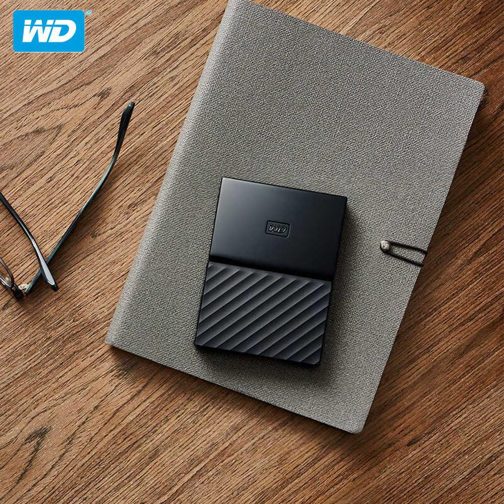 100% оригинал Western Digital My Passport HDD ТБ 2 ТБ USB 3,0 портативный внешний жесткий диск 4 ТБ с кабелем HDD Windows Mac