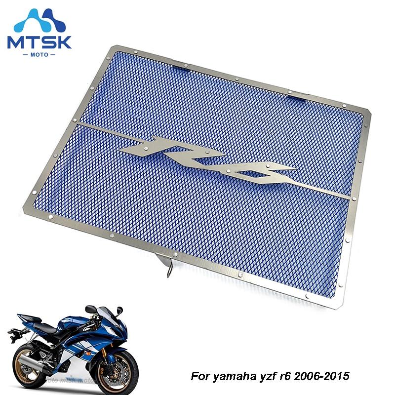 Защитная сетка для радиатора для Yamaha YZF R6, крышка для гриля, защитная сетка для радиатора YZFR6, детали 2006, 2007, 2008, 2009, 2010, 2011, 2012, 2013, 2014, 2015