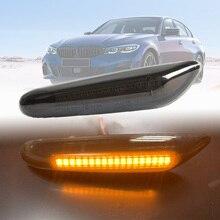 Dynamic LED Side Marker Indicator Turn Signal Light For BMW E81 E82 E87 E88 E90 E91 E92 E93 E46 E60 E61 X3 E83 X1 E84 Car Light