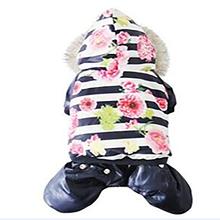 Зимняя одежда для домашних животных новинка роскошное утепленное
