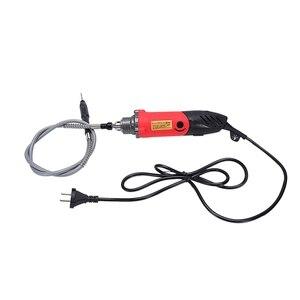 Штепсельная вилка ЕС, 240 Вт электрическая мини-дрель для стиля роторного электроинструмента гравер сверлильный станок шлифовальный станок абразивный домашний инструмент Diy