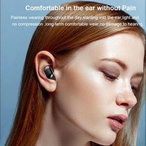 Image 4 - TWS беспроводные Bluetooth наушники, стерео HD беспроводные наушники, мини наушники с сенсорным управлением, музыкальная гарнитура с микрофоном для смартфонов