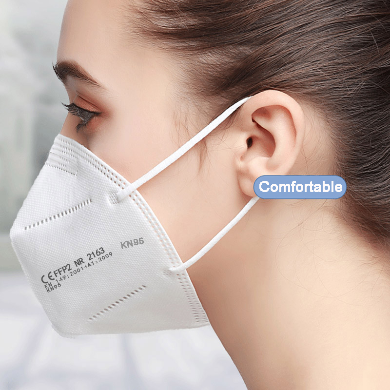 100 Pieces KN95 Mascarillas CE FFP2 Facial Face Mask 5 Layers Filter Protective Health Care Breathable 95% Mouth Masks For Face 3