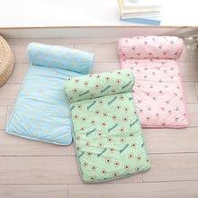 Летний охлаждающий коврик для собак дышащая кровать ледяной