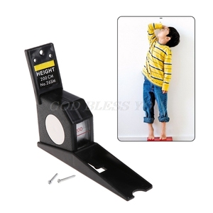 Body Height Rod Wall Mounted Height Meter Roll Ruler Growth Stature Meter Tall Measure Tape 2M/200CM Drop Shipping
