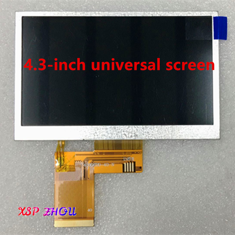 Compatible Replacement 4.3 Inch 40 Pin KD43G18-40NB-A1 KD43G18 A5 4.3 C430P T43P12 GPS LCD + Touch Screen Free Shipping